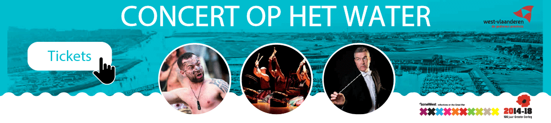 Concert op het water:  Every end means a new Start VYNieuwpoort
